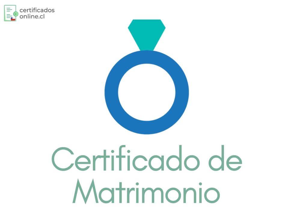 certificado de matrimonio gratis