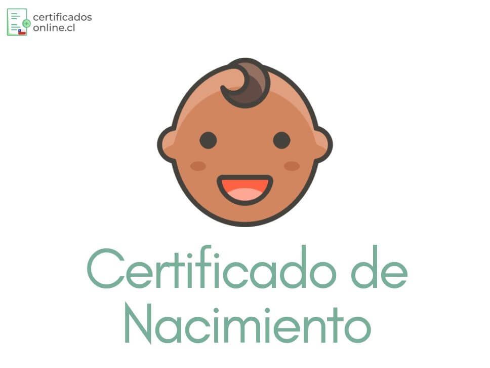 certificación de nacimiento