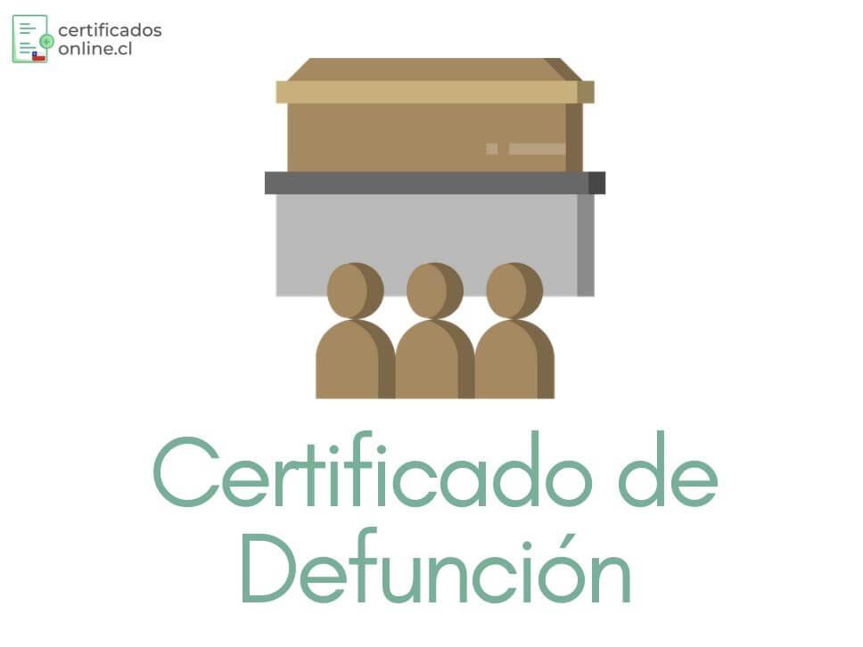 certificado de defunción gratis