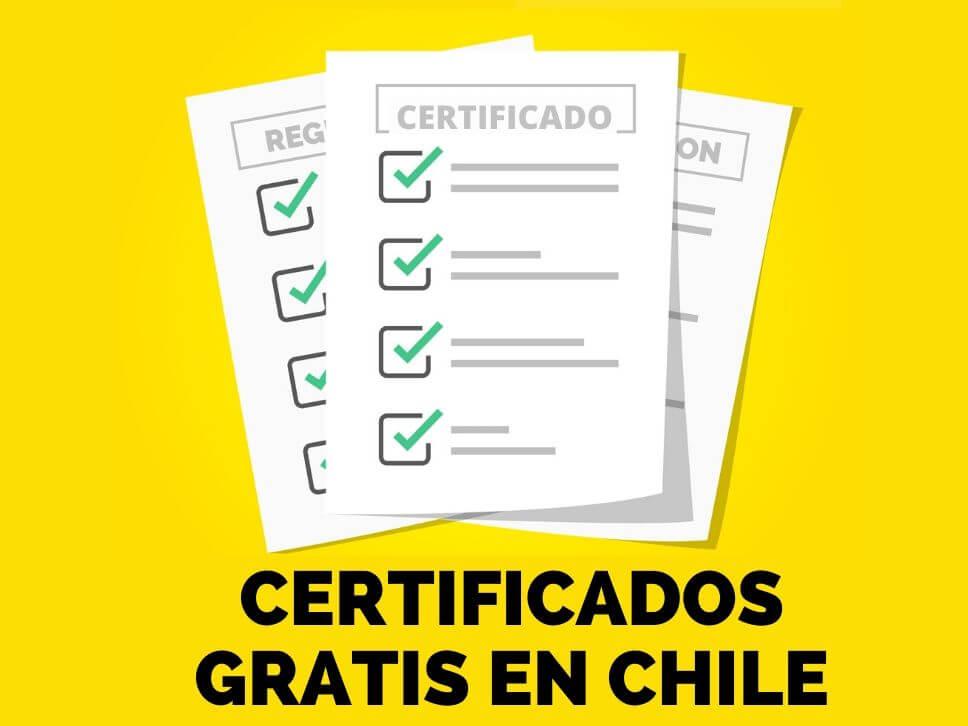 Certificados Gratis en Línea